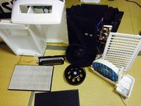 家庭用空気清浄機 分解クリーニング1 鹿児島市 ヒューマンライズ