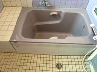 ゴミ処分・遺品整理 ゴミ処分・リフォーム後にグループ店にてハウスクリーニング 浴室クリーニング完了後 鹿児島市 ヒューマンライズ