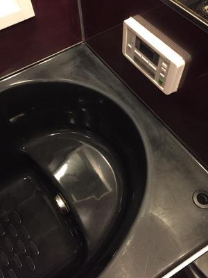ヒューマンライズの浴室リペアコーティング 鹿児島市 作業前①